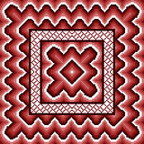 Dark red seamless pattern