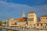 Trogir ancient stone architecture view