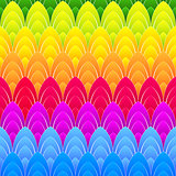 background with rainbow ellipses
