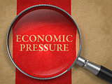 Economic Pressure through Magnifying Glass.