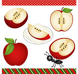 Apple Digital Clipart