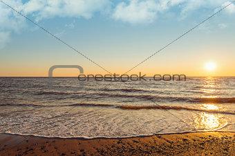 Cedar Dunes Beach at Sunset