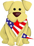 Cartoon usa dog