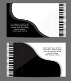 Pioano card design
