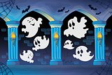Haunted castle interior theme 8