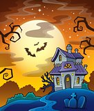 Haunted house theme image 8