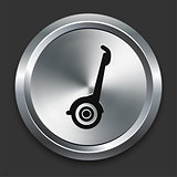 Segway Icon on Metallic Button Collection