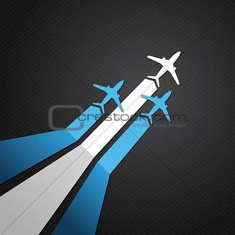 Argentina plane vector