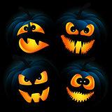 Dark pumpkins