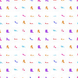 Vector background for women shoes