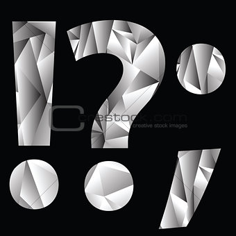 crystal question mark