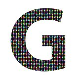 multicolor letter G