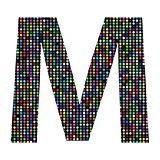 multicolor letter M