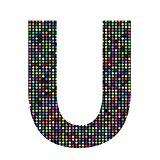 multicolor letter U