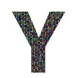 multicolor letter Y