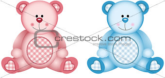 Baby Pink and Baby Blue