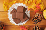 Holiday fudge candy