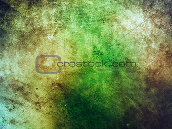 Old green grunge background