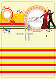 Restaurant spanish menu. Vector illustration