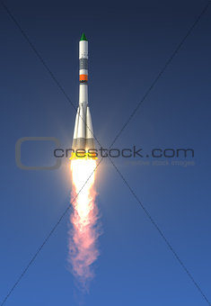 Cargo Rocket Launch