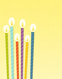 the birthday candles