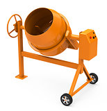 the concrete mixer