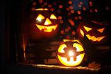 Halloween gourds