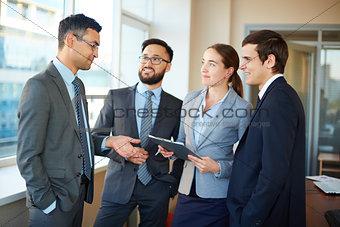 Listening to business partner