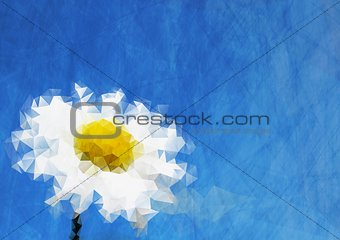 Abstract tech nature background