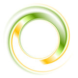 Abstract bright logo ring