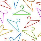 Color hangers pattern.