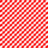 Seamless geometric pattern red color