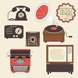 Retro devices collection