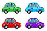 Cartoon image of cars