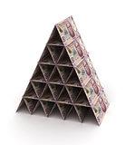 Mexican Pesos Pyramid