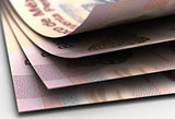 Mexican Pesos Closeup