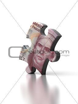 Single Mexican Pesos Puzzle