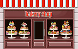 Image of a store sweets and bakery