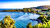 Alonissos Steni Vala Beach - Impressionism effect