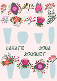 Create your bouquet