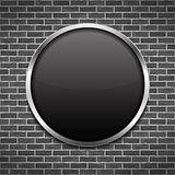Black Round Frame