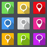 Map Pins Icons