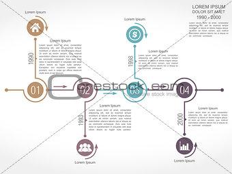 Timeline Design Template