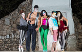 Comedia Del Arte Clowns