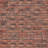 Old Red Brick Wall Texture.
