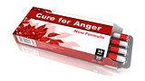 Cure for Anger - Blister Pack Tablets.