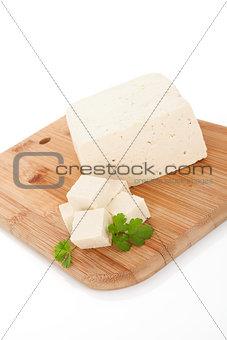 Tofu background.