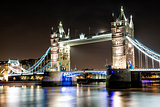 London Tower Bridge across the River Thames