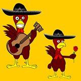 mexican chicken mariachi set2