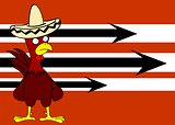 mexican chicken background2